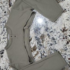Zara sweatshirt shrug